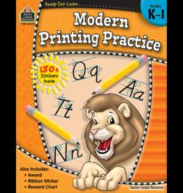 TCR Modern Printing Practice Grade K