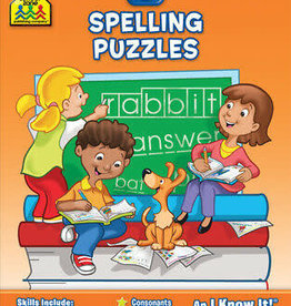 School Zone Spelling Puzzles - Grade 2