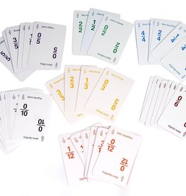 American Educational Products Fraction Bars Playing Cards