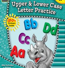 TCR Kindergarten Upper and Lower Case Letter Practice