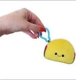 """Squishable Micro Taco Keyring (3"""")"""