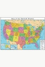 Replogle 33 x 49 US Map 72116