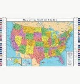 Replogle 33 x 49 US Map