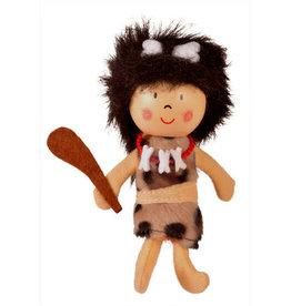 Fiesta Cavewoman Finger Puppet