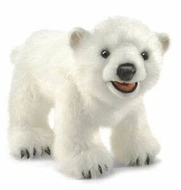 Folkmanis BEAR, POLAR CUB