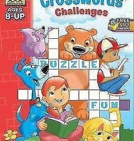 School Zone Crossword Challenges grade 2-3