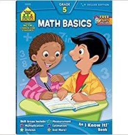 School Zone Math Basics Grade 5