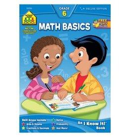 School Zone Math Basics Grade 6