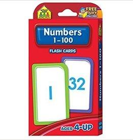 School Zone Numbers 1-100