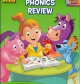 School Zone Phonics Review grade 1-3