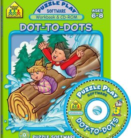 School Zone puzzle play dot to dot grade 1-2