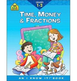 School Zone TIme, Money, Fractions grade 1-2