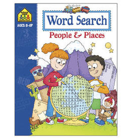 School Zone Word Search People and Places grade 3-4