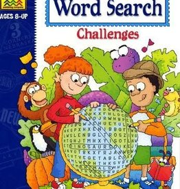 School Zone Word Searches Challenges grade 3-4