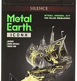 Metal Earth Silence - COLOR Game of Thrones