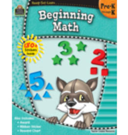 TCR Beginning Math Preschool- Kindergarten