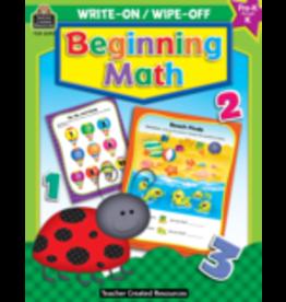 TCR Beginning Math preschool-Kindergarten