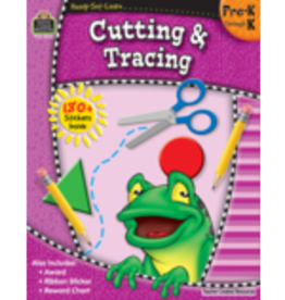 TCR Cutting and Tracing Preschool-Kindergarten