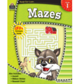 TCR first grade mazes