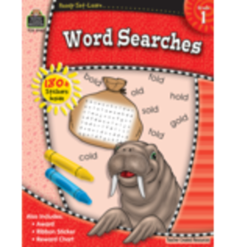 TCR First Grade Word Searches