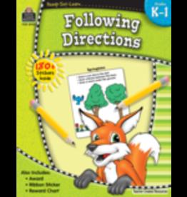 TCR Kindergarten- First Grade Follow Directions