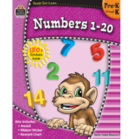 TCR Numbers 1-20 Preschool-Kindergarten