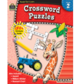 TCR second grade Crossword Puzzles