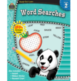 TCR second grade Word Searches