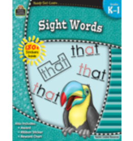 TCR Sight Words grades kindergarten- 1