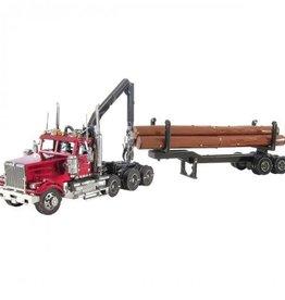 Metal Earth Western Star 4900 Log Truck & Trailer
