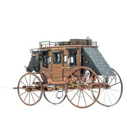 Metal Earth Wild West Stagecoach - COLOR