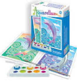 Aquarellum Dolphins Mini