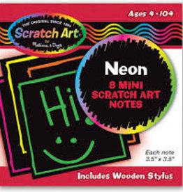 Melissa & Doug Neon Mini Scratch Notes