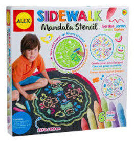 Slinky Poof POOF Sidewalk Mandala Garden