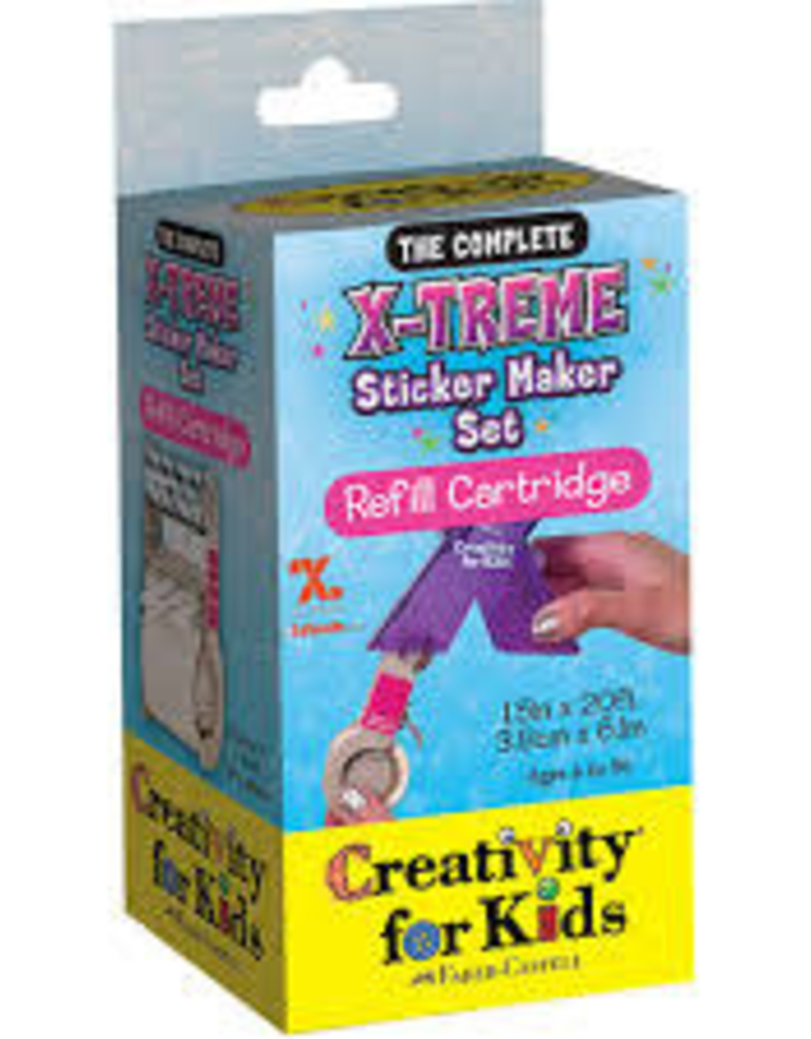 fabercastell xtreme sticker maker refill  the toy quest