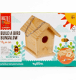 Beetle and Bee Build A Bird Bungalow