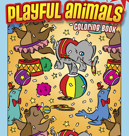 Dover Publications Playful Animals Coloring Book