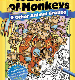 Dover Publications A Barrel of Monkeys and Other Animal Groups Coloring Book