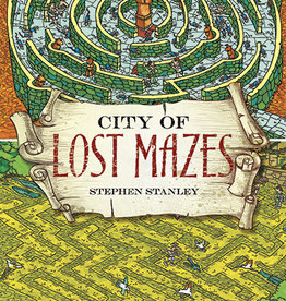 Dover Publications City of Lost Mazes