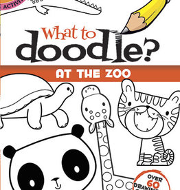 Dover Publications What to Doodle? At the Zoo