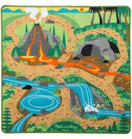 Melissa & Doug Prehistoric Playground Dinosaur Rug