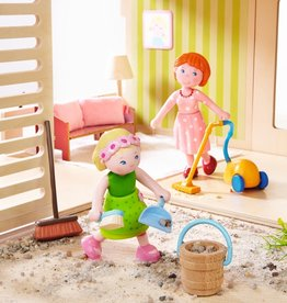 Haba Little Friends - Dollhouse Accessories Spring Cleaning