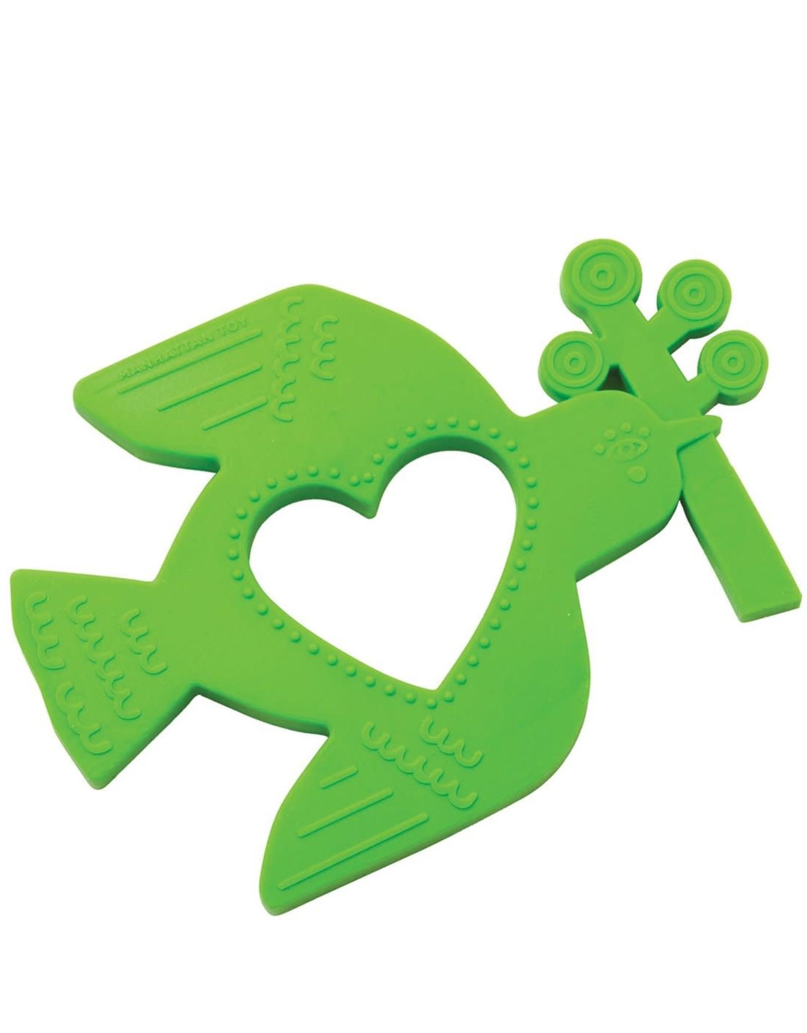 Manhattan Toy Bird Silicone Teether
