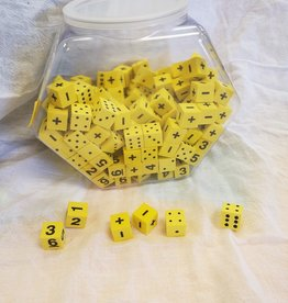 Kaplow Games Dice Foam Math Operations