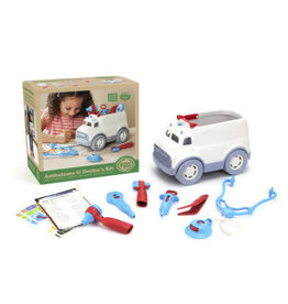 Green Toys Ambulance and Dr. Kit