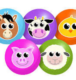 Baby Farm Friends Green Lamb Ball