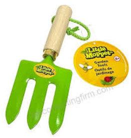 Little Moppet Garden Tool Hand Rake Green