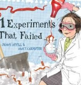 S&W Books 11 Experiments That Failed by Jenny Offill & Nancy Carpenter