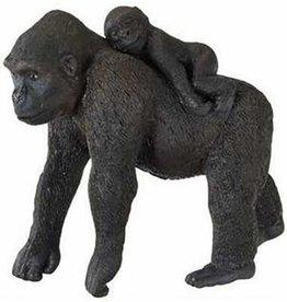 Schleich Gorilla Female with Baby