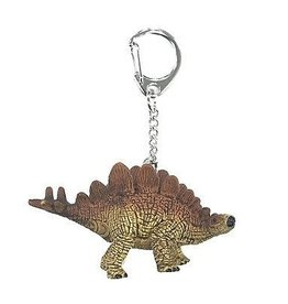 Schleich Stegosaurus mini key chain